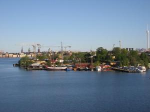 Saavumme Tukholmaan