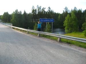Minä ja Oulankajoki